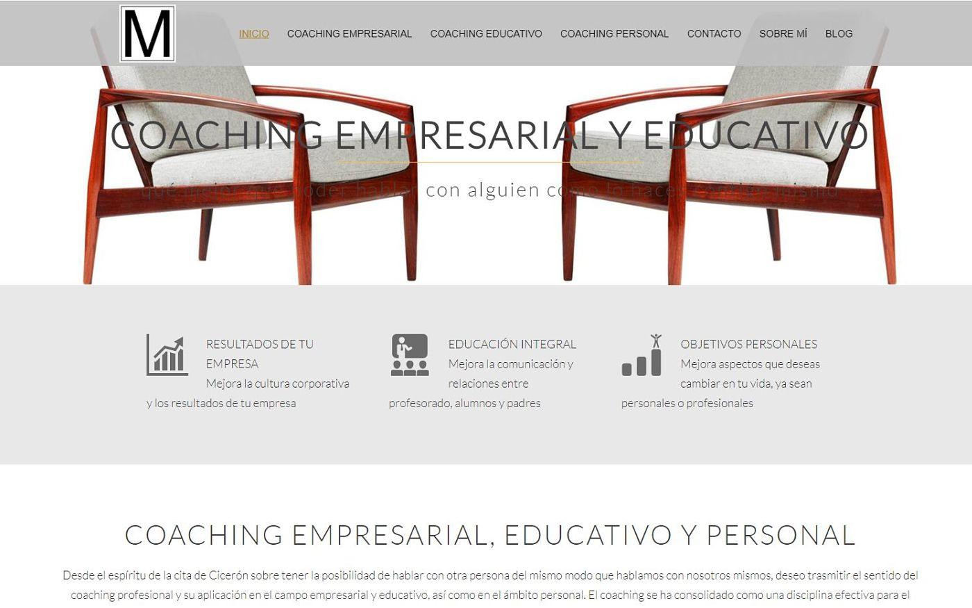 diseño para ignacio mincholed coach empresarial y educativo