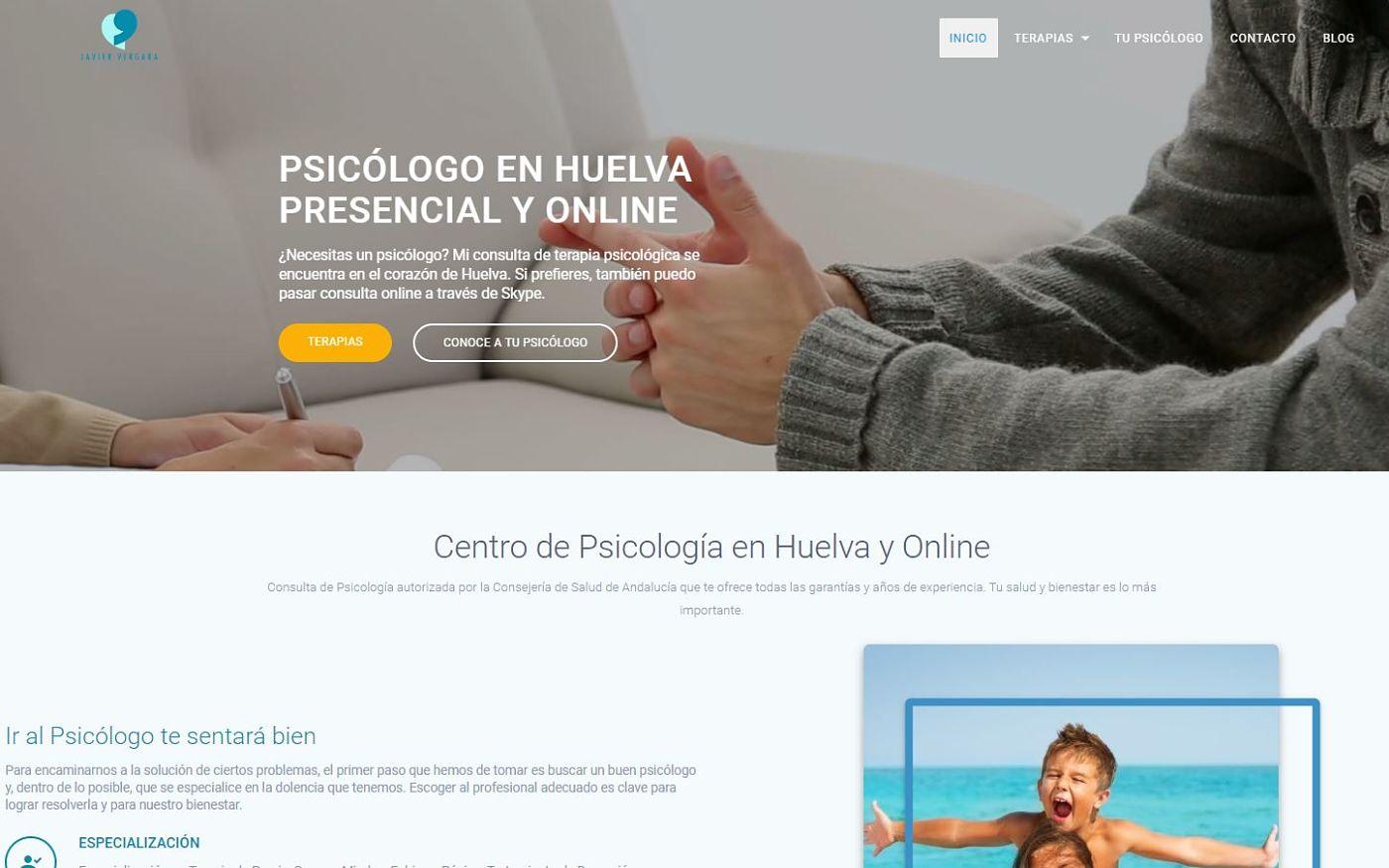 diseño web realizado javier-vergara psicólogo y terapeuta