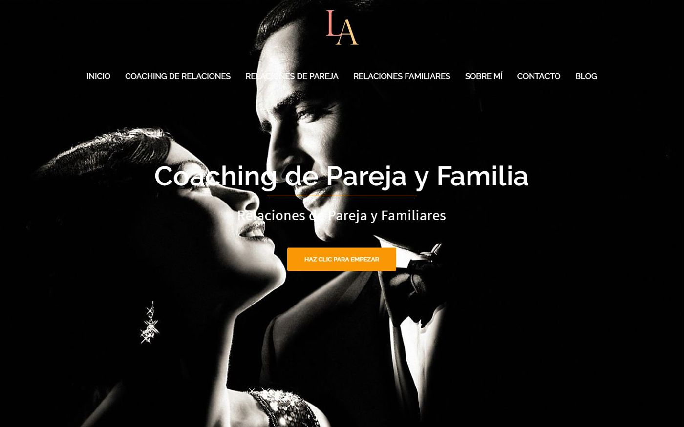 diseño web realizado para lidia alonso coach y psicóloga